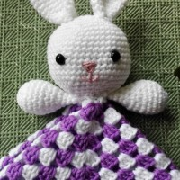 Bunny-lovey english pattern