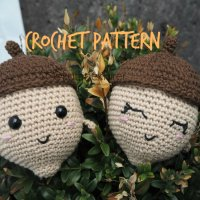 Acorn buddy - crochet pattern