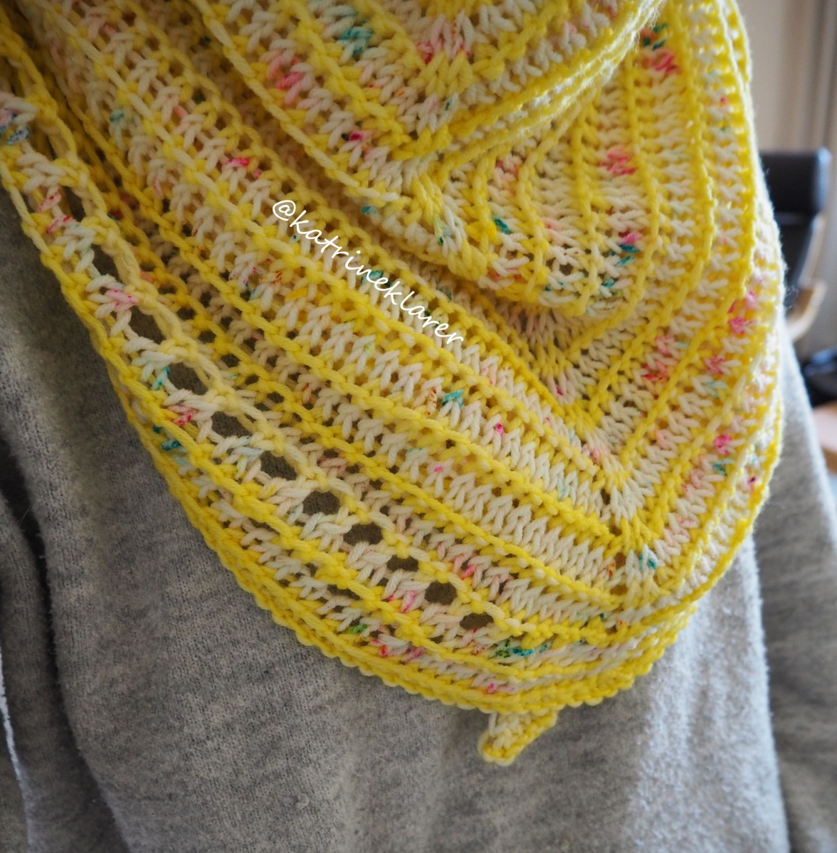 Lemon Tea Time Shawl